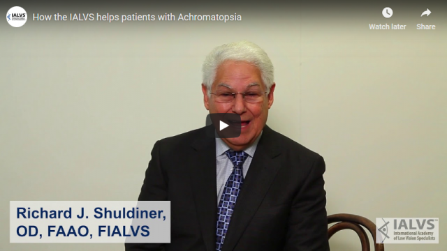 Screenshot 2019 03 29 How the IALVS helps patients with Achromatopsia YouTube