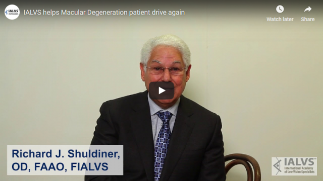 Screenshot 2019 03 29 IALVS helps Macular Degeneration patient drive again   YouTube